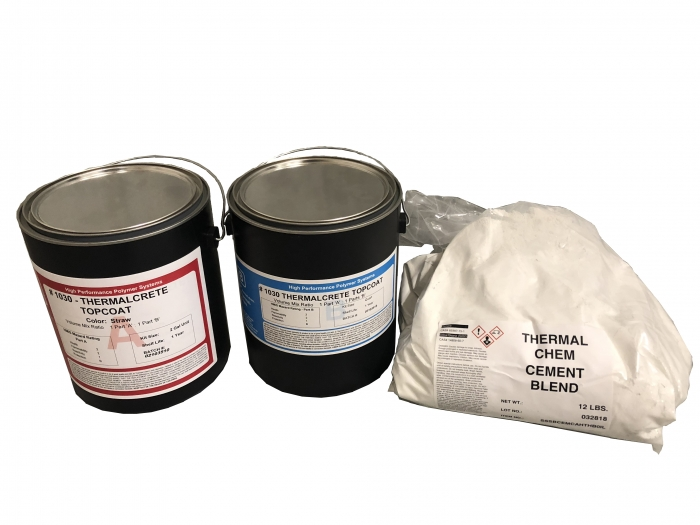 Thermal-Chem ThermalCrete Top Coat (2 Gal Kit)