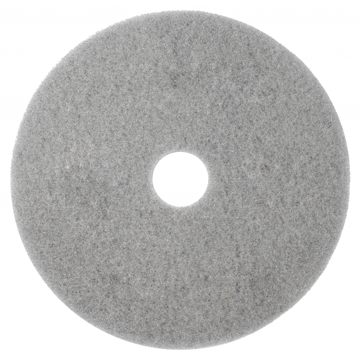 Twister Gray Cleaning & Burnishing Diamond Floor Pad (2 Pack)