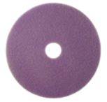 Twister Purple Cleaning & Maintenance Diamond Floor Pad (2 Pack)