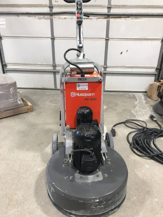 USED Husqvarna PG 820 480V (238 Hours)
