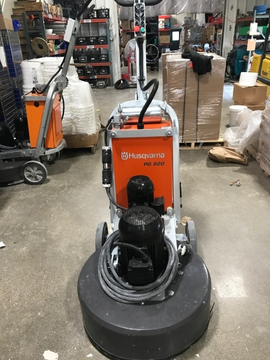 USED Husqvarna PG 820 480V (211 Hours)