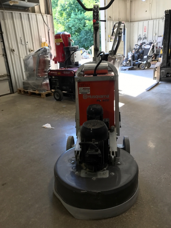 USED Husqvarna PG 820 480V (101 Hours)