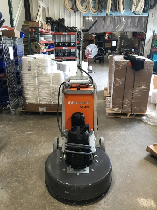 USED Husqvarna PG 820 480V (108 Hours)