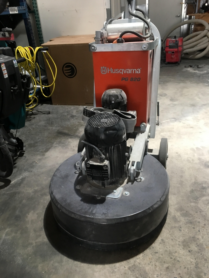 USED Husqvarna PG 820 480V (63.8 Hours)