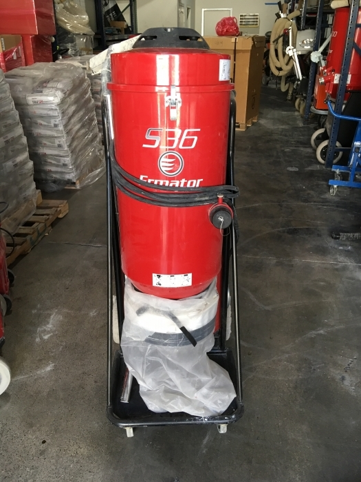 USED Pullman Ermator S36 Single-Phase 230 Volt HEPA Dust Extractor (55 Hours)