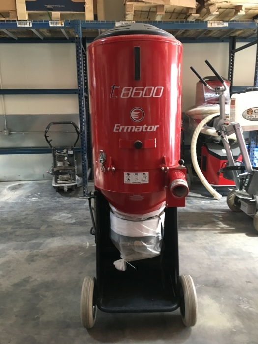 USED Ermator T8600 Propane Dust Extractor (54.5 Hours)