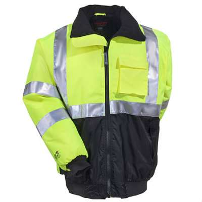Waterproof Class 3 High-Visibility 5-in-1 Bomber Jacket