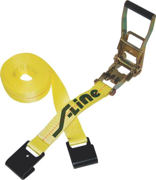 "2"" x 27"" Ratchet Strap with Flat Hooks"