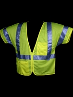 Dicke V150 Mesh Zipper Safety Vest