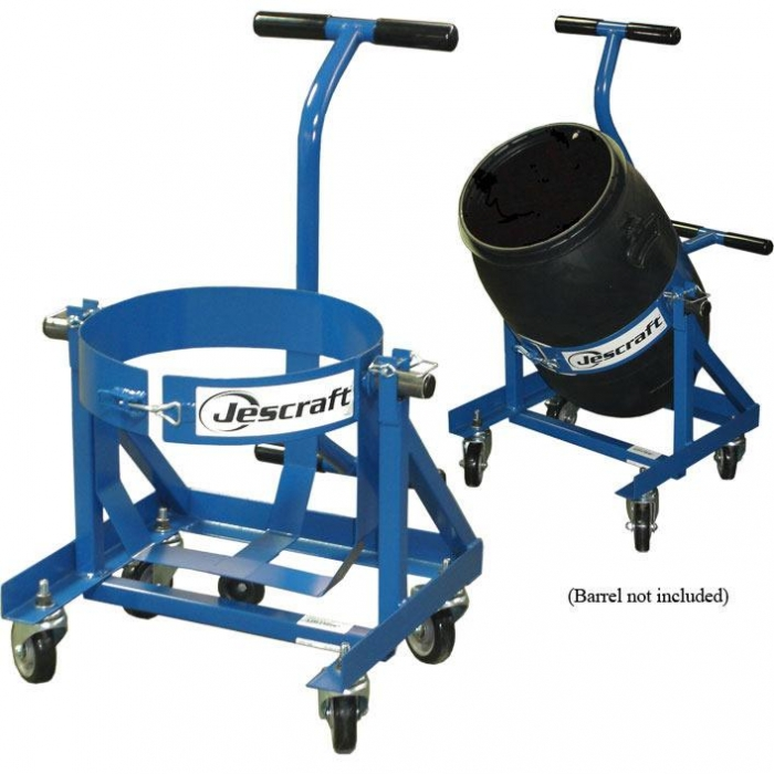 Jescraft Concrete Equipment Jobsite Barrel Cart For Ardex