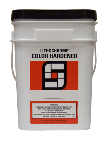 LITHOCHROME Concrete Color Hardener For Abrasion Resistance