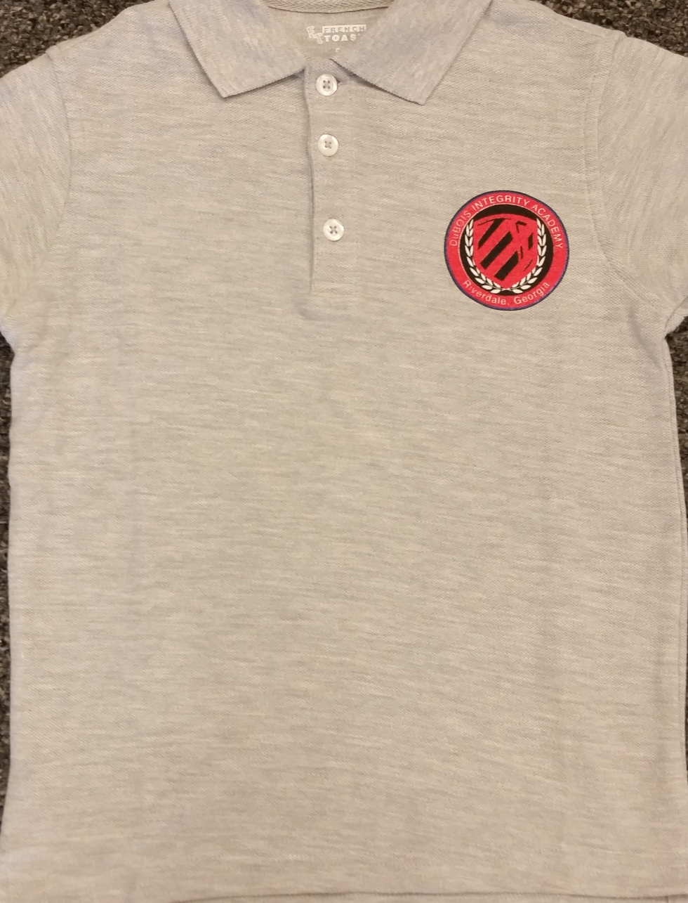 Grey Youth Polo Shirt