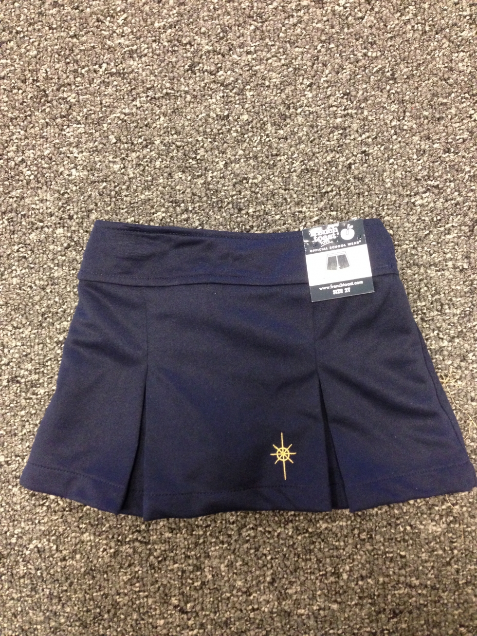 Purpose of Life Navy Skirt