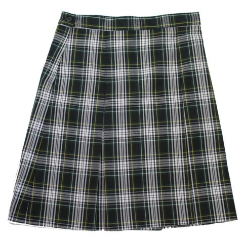 Style 3953 Plaid 61 Pleated Skirt