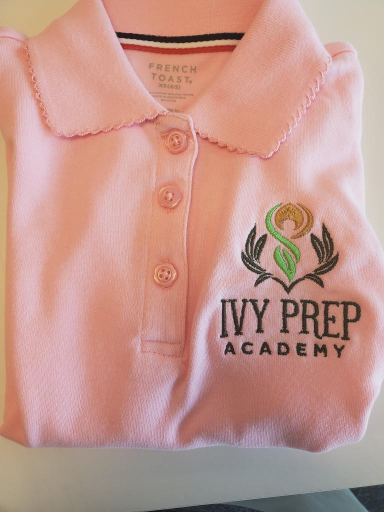 IVY Prep Embroidered Polo Shirt