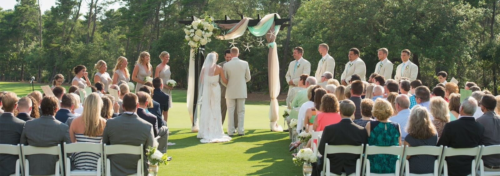 Wedding Ceremonies at Sharks Tooth