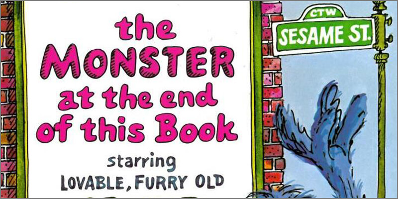 Six Traits Introduction Mentor Text Trait of Voice The Monster at the end of this Book