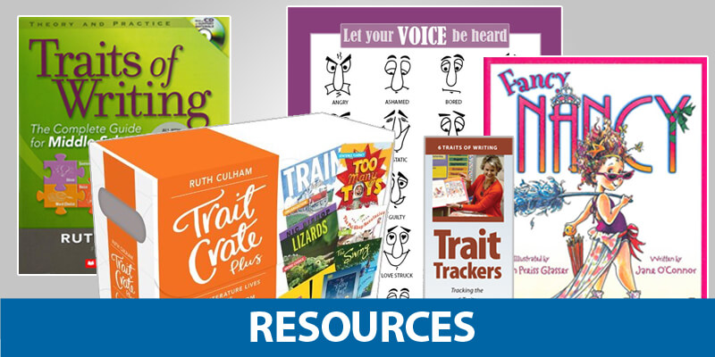 6-Traits Resources for K-12 Literacy Instruction