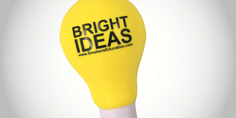 Bright Ideas Lightbulb Smekens Education original for Trait of Ideas