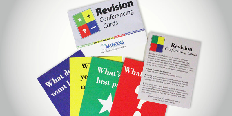 6 Traits of Writing Revision Cards