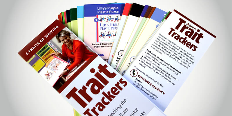 Trait Trackers for the 6 Traits of Writing
