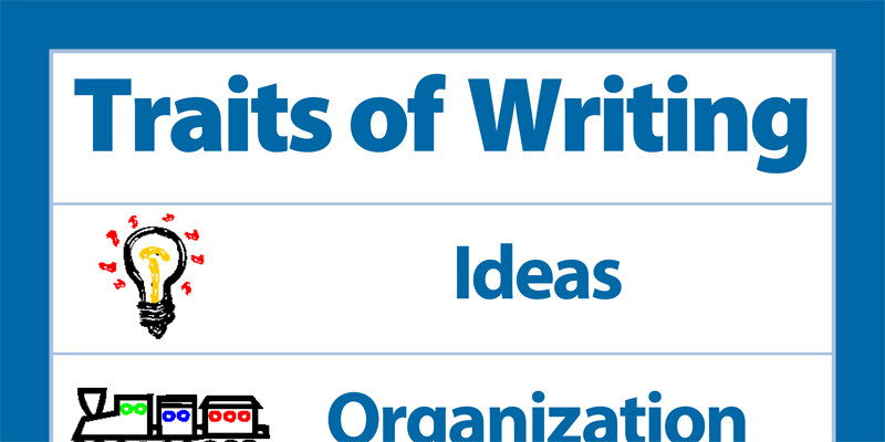 Six Traits of Writing poster