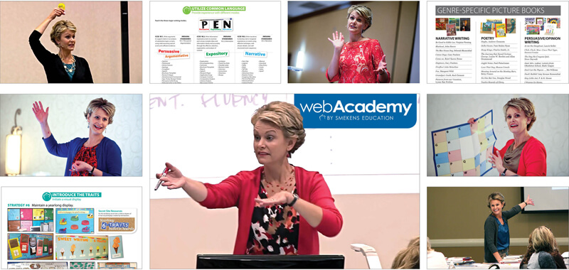 Online 6-Traits Courses with webAcademy by Smekens Education