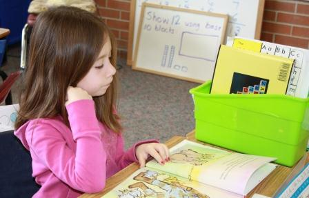 Literacy Station Independent Reading