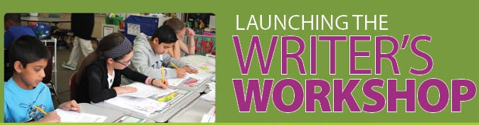 Smekens Education Launching the Writer's Workshop