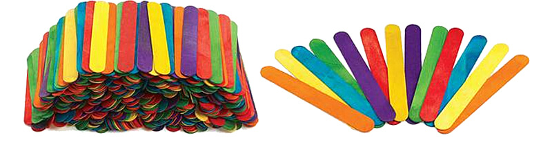 Colorful Talking Sticks for Classroom Management