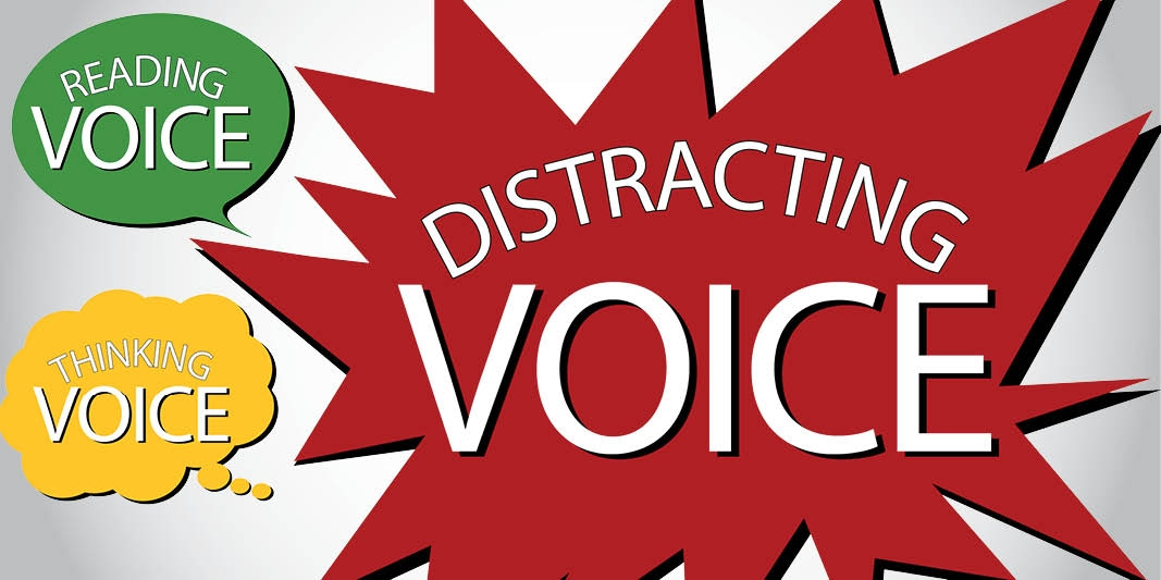 Self-monitor to mute the Distracting Voice