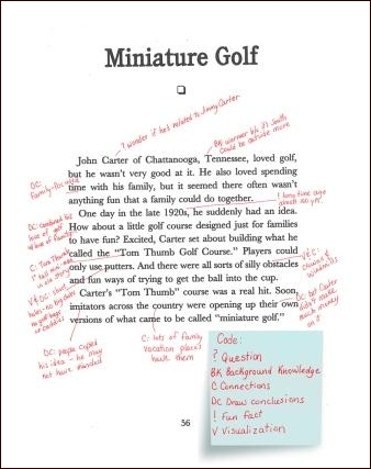 Miniature Gold Annotation Example