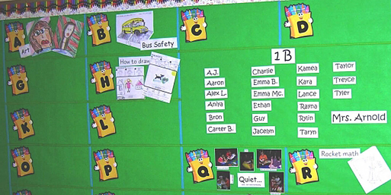 ABC Ideas Bulletin Board