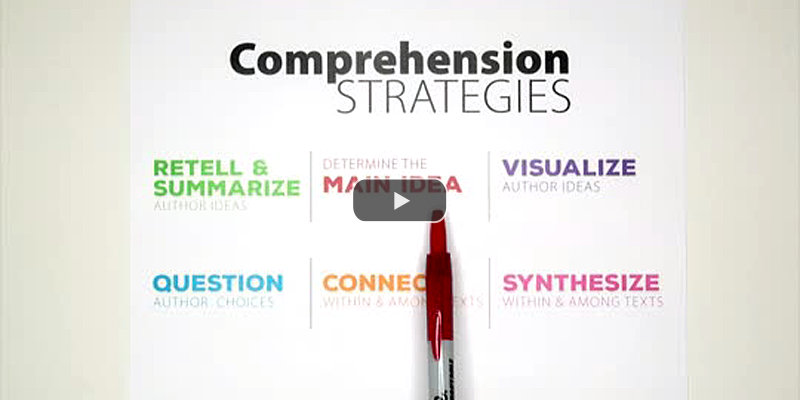 Break Down Comprehension Strategies by Subskills