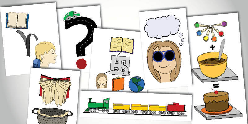 Connect Comprehension Skills to Graphic Icons