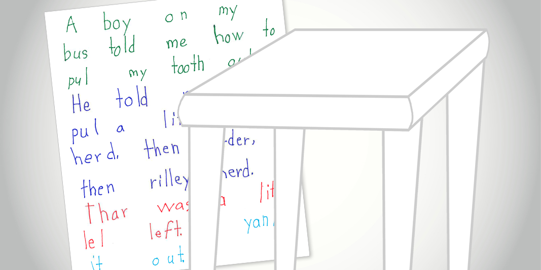 Develop Paragraph Writing--One Sentence at a Time