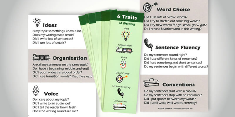6 trait writing rubric student friendly Updated october 2014 grades 6–11 argumentation text-based writing  rubric (score points within each domain include most of the characteristics  below.