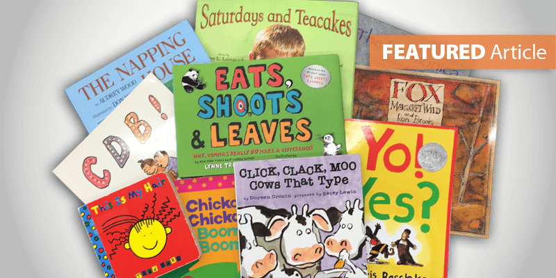 Kristina's Favorite Picture Books to Teach the 6 Traits