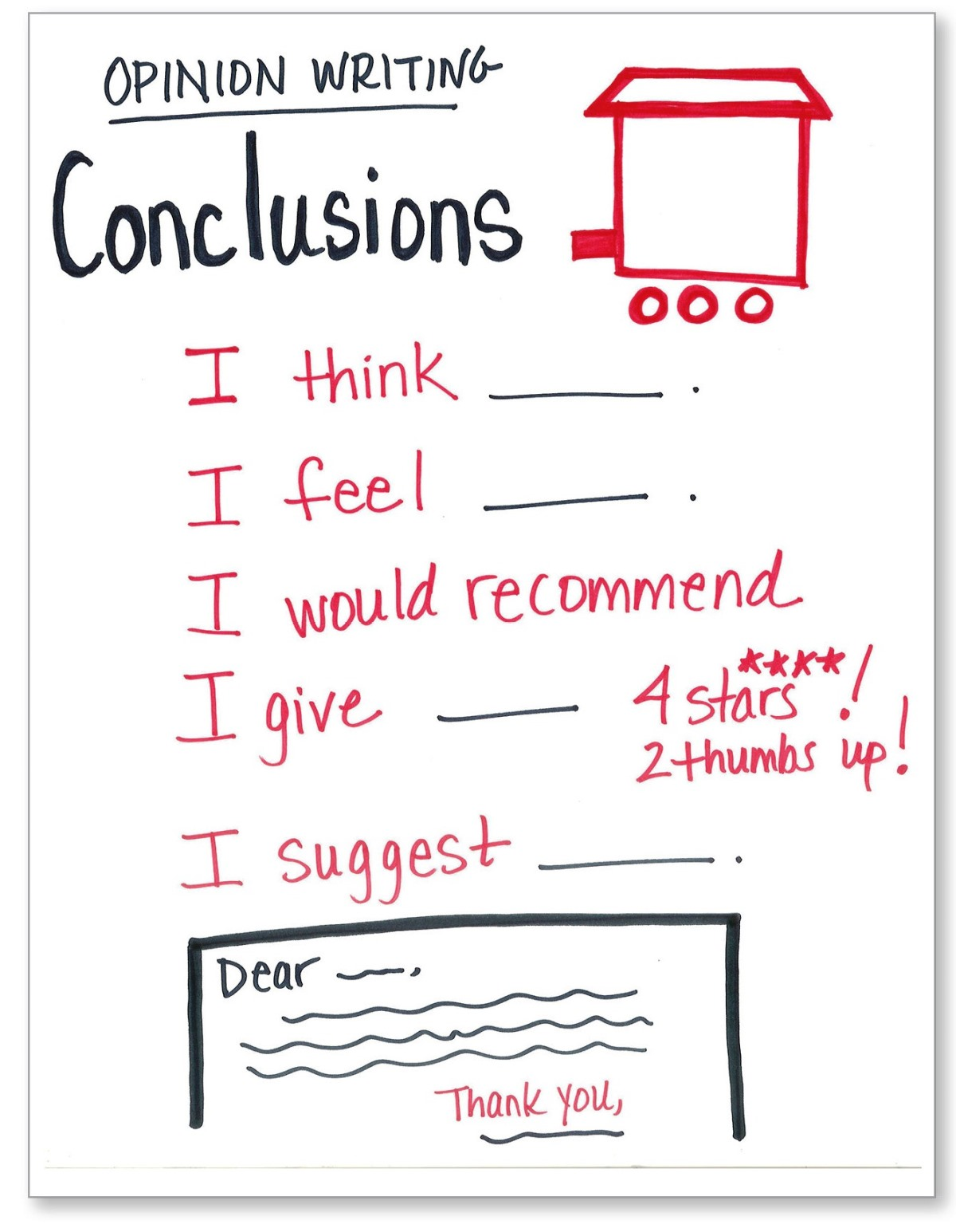 Opinion Writing Conclusions