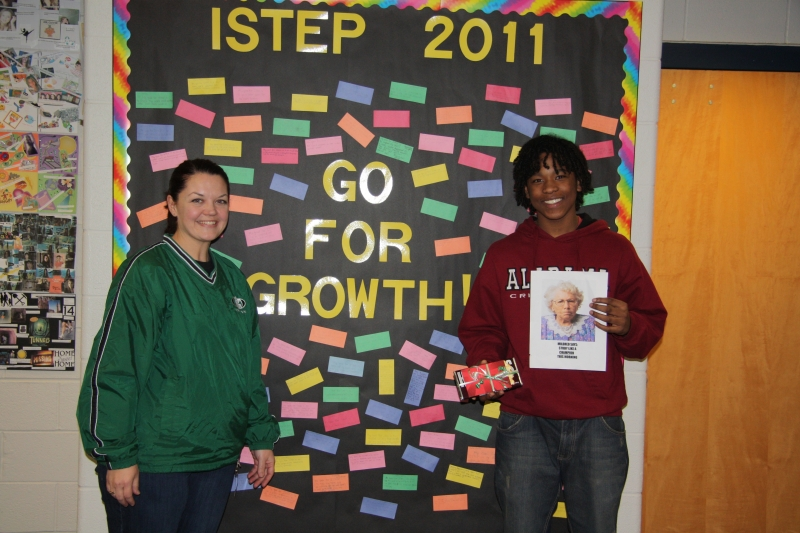 Yorktown Middle School Go for Growth Winner