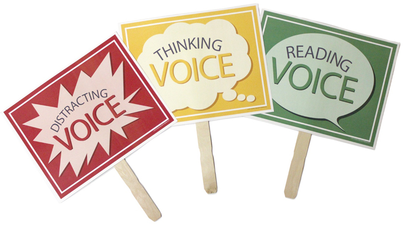 Smekens Education Reading Voice, Thinking Voice, and Distracting Voice