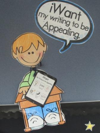 6 Traits of Writing--iPAD bulletin board