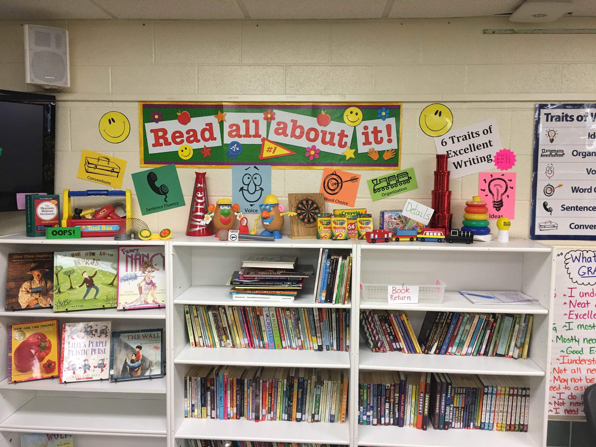 Toys & Triggers for Literacy Instruction  Display