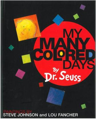 My Many Colored Days--Picture Books to Teach Voice--6 Traits of Writing
