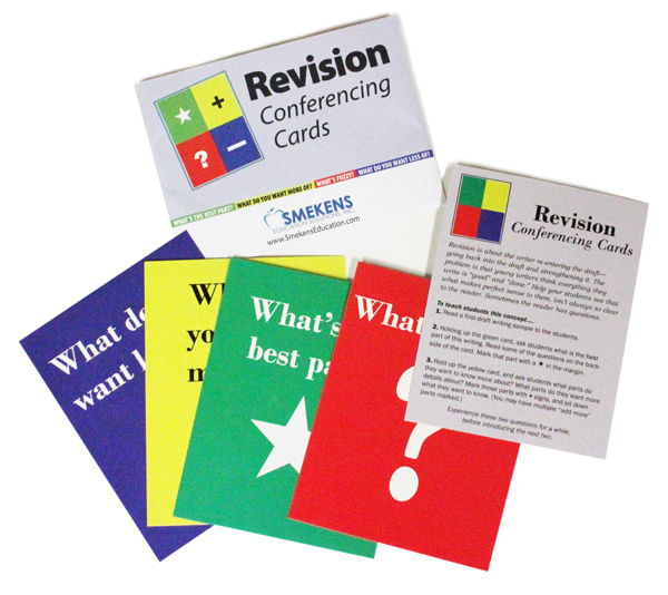 6-Traits Peer Revision Conferencing Cards--Smekens Education Original