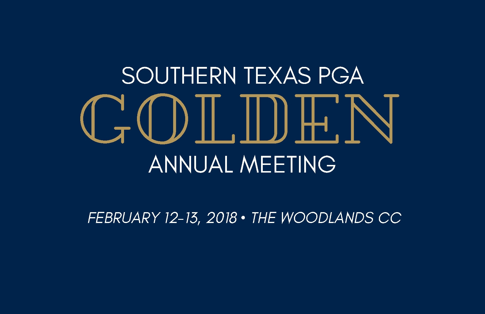 Registration is Now Open for the 2016 STPGA Annual Meeting