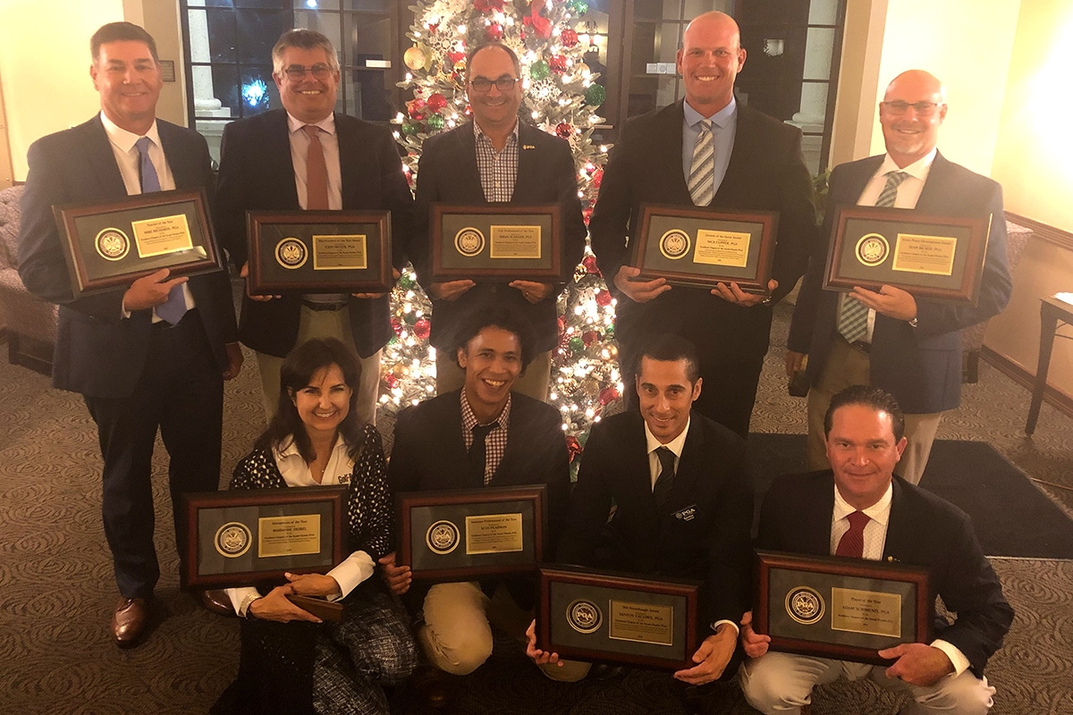 Pembroke Lakes Country Club Host Southern Chapter Annual Fall Meeting and Awards Ceremony
