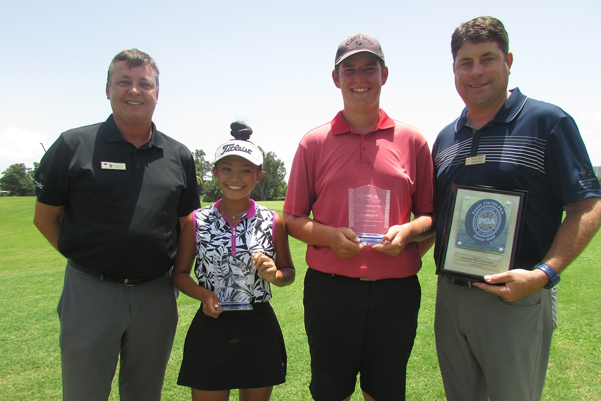 Miller and Marcelino Capture Challenge Tour Event #8