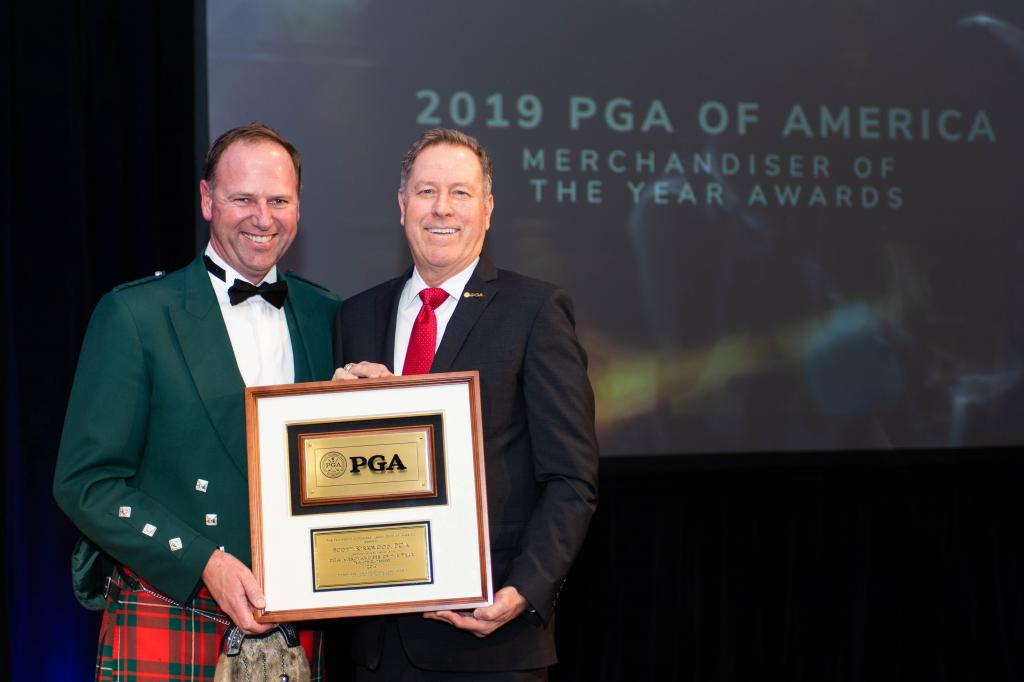 Scott Kirkwood, PGA Honored With the PGA Merchandiser of the Year (Private Category)