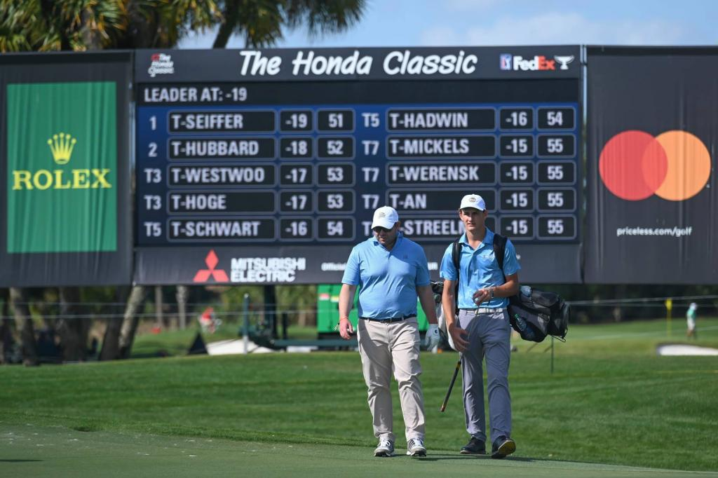 Inside the ropes with Gabe Prissert at The Honda Classic
